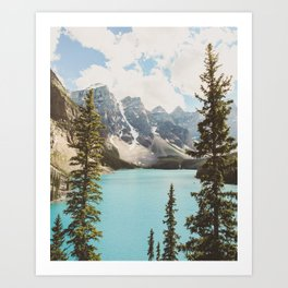Moraine Lake II Banff National Park Art Print