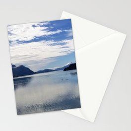 Clouds Over Alaska A Panoramic View Stationery Cards
