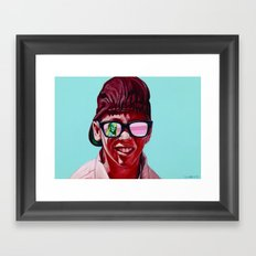 there goes my baby Framed Art Print