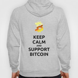 KEEP CALM and SUPPORT BITCOIN! Hoody