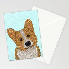 Cute Corgi Stationery Cards