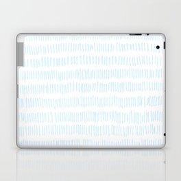 a frozen field - a handmade pattern Laptop & iPad Skin