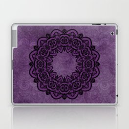 Circle in Purple Laptop & iPad Skin