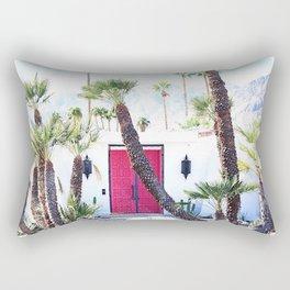 That New Pink Door Palm Springs Rectangular Pillow