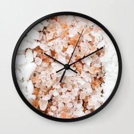 Healing Spa Salts Wall Clock