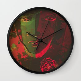 Stay Wild and Kiss Me Wall Clock