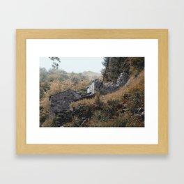 Ruins in Como, II Framed Art Print