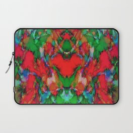 Red colour reaction Laptop Sleeve