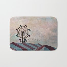 Live With Joy Bath Mat