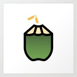 Coco frio Art Print