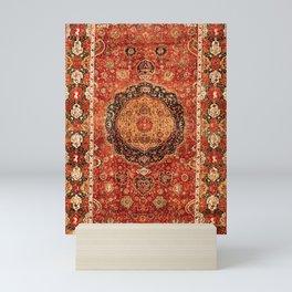 Seley 16th Century Antique Persian Carpet Print Mini Art Print