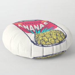 Condensed ananas Floor Pillow
