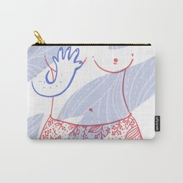 Naked breast Carry-All Pouch