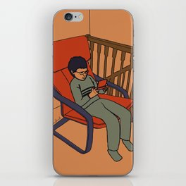 At the top of the stairs iPhone Skin