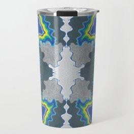 Glacial Kaleidoscope Travel Mug