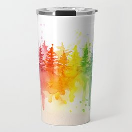 Rainbow Forest Travel Mug