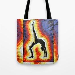 Yoga Backbend Tote Bag