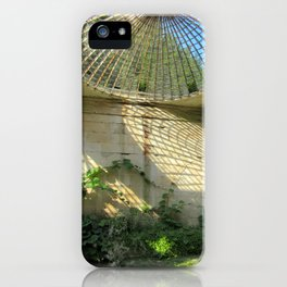 Nature Reclaiming Old Structure iPhone Case