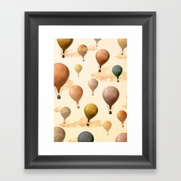 Voyagers Pattern Framed Art Print