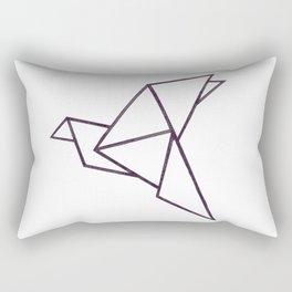 Origami bird Rectangular Pillow