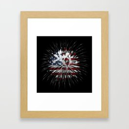 Joshua Tree Americana by CREYES Framed Art Print