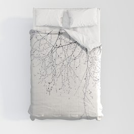 BLACK BRANCHES Comforters