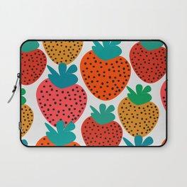 Funny strawberries Laptop Sleeve
