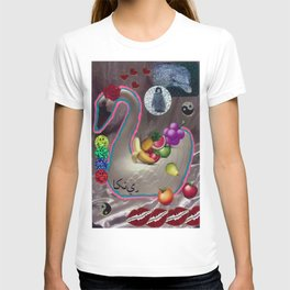 EMOJI FRUITS IN THE HAKUCHOU BASKET  T-shirt