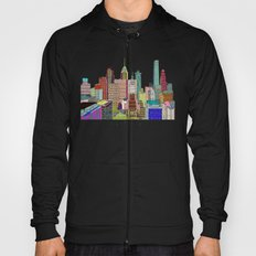 Philadelphia city sklyine Hoody
