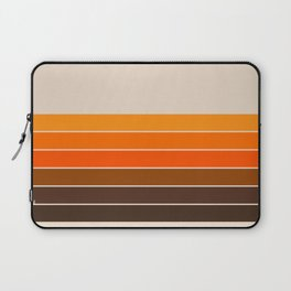 Golden Spring Stripes Laptop Sleeve