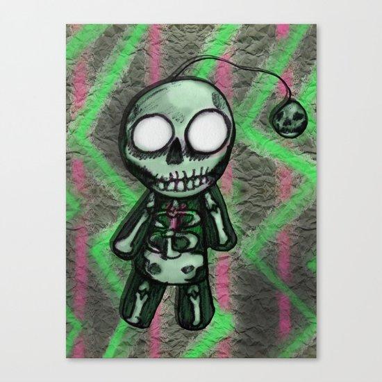 SkeltoBob Canvas Print