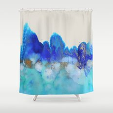 me and the sea Shower Curtain