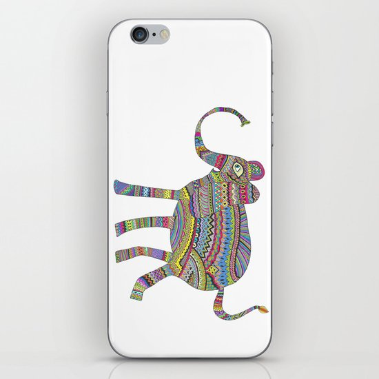 rainbow child iPhone & iPod Skin
