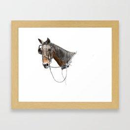 Buggy Horse 2 Framed Art Print
