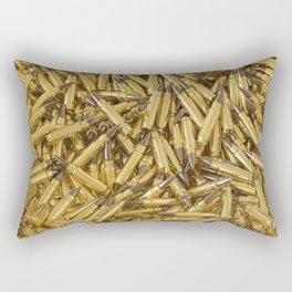 Full of ammo Rectangular Pillow