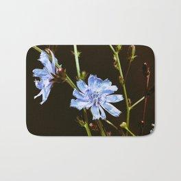 Roadside Flowers Bath Mat