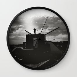 Nothing between me Wall Clock