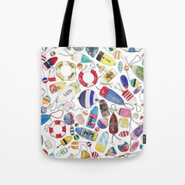 Buoy Collection Tote Bag