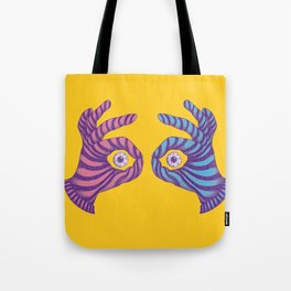 Thief Eyes Tote Bag