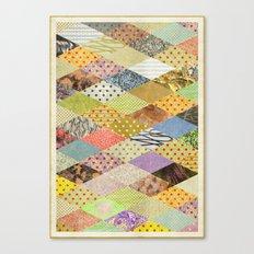 RHOMB SOUP / PATTERN SERIES 002 Canvas Print