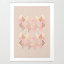 Marshmallow dance Art Print