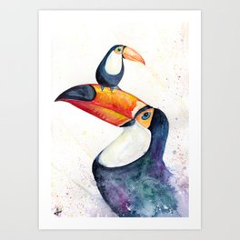 Toucan Play That Game Art Print