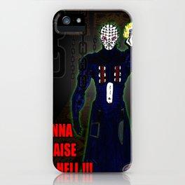 """Gonna Raise Hell"" Darrell Merrill iPhone Case"