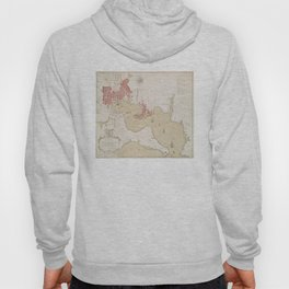Vintage Map of Baltimore MD (1793) Hoody