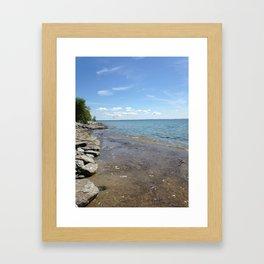 summah lovin Framed Art Print