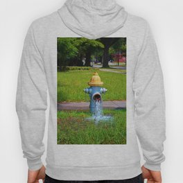 Fire Hydrant Gushing Water Hoody