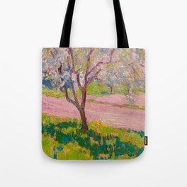 J.E.H. MacDonald, 1873-1932 Apple Blossom, York Mills Tote Bag