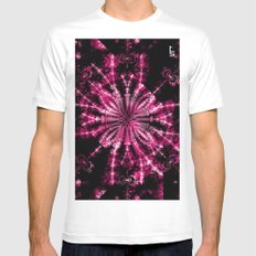 Fractal Imagination - Passion I Mens Fitted Tee White MEDIUM