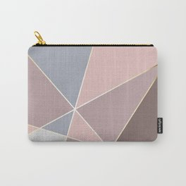 Fragments Rose Bleu Gold Carry-All Pouch