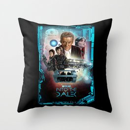Doctor Who: Into The Dalek Throw Pillow
